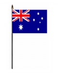Australia Country Hand Flag - Small.